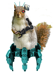 Secret Cyber Squirrel
